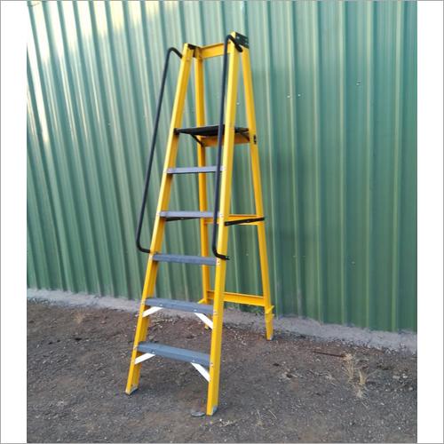 Industrial Foldable Platform Ladder