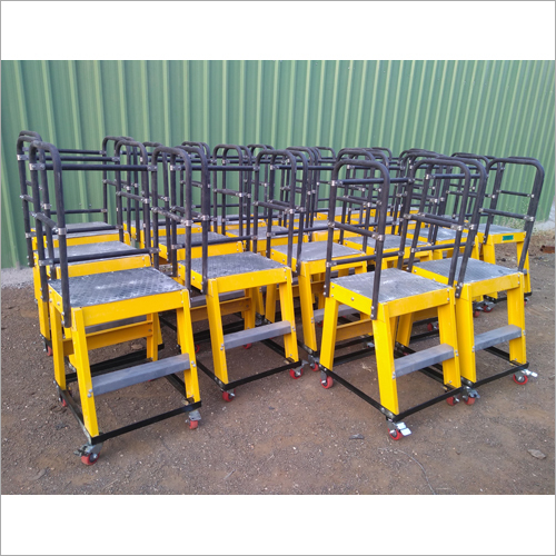 FRP / GRP Mini Movable Platform Ladder