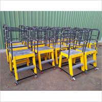 FRP Mini Moveable Platform Ladder