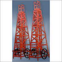 FRP Tower Ladder Telescopic Trolley