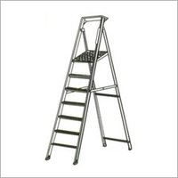 Aluminum Foldable Platform Ladder