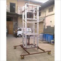 Industrial Mobile Tiltable Telescopic Trolley