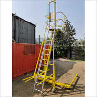 Aluminum Top Tank Access Ladder