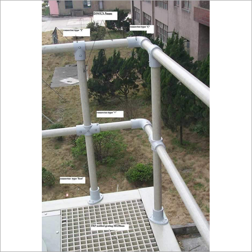 FRP GRP Industrial Handrailing