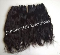 Vintage straight Wavy Human Hair Extensions