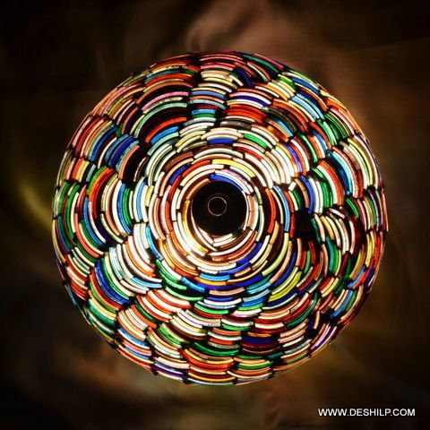 Bangle Mosaic Wall Ceiling Light