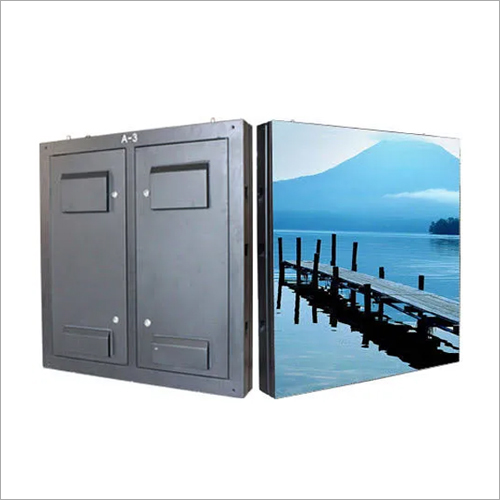 Double Sided Iron Cabinet LED Display