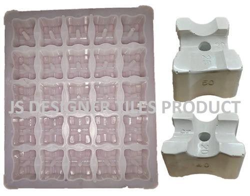 Plastic Cover Block Moulds 20,25,40,50.mm