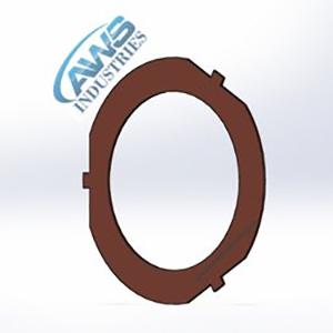 Thrust Washer Copper