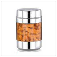 Stainless Steel Transparent Canisters