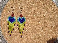 seed bead fringes