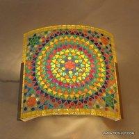 Multicolor Barfi Mosaic Wall Lamp