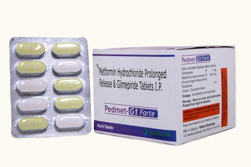 GLIMEPIRIDE 1MG + METFORMIN 1000SR