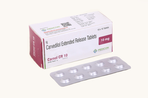 CARVEDILOL 10MG EXTENDED RELEASE