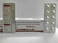 Doxylamine (20mg) + Vitamin B6 (Pyridoxine) (20mg) + Folic Acid (5mg)