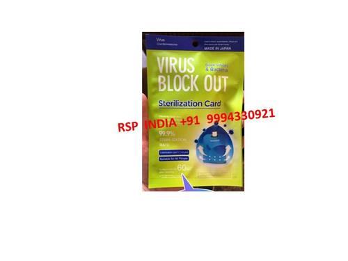 Virus Block Out Sterilization Card