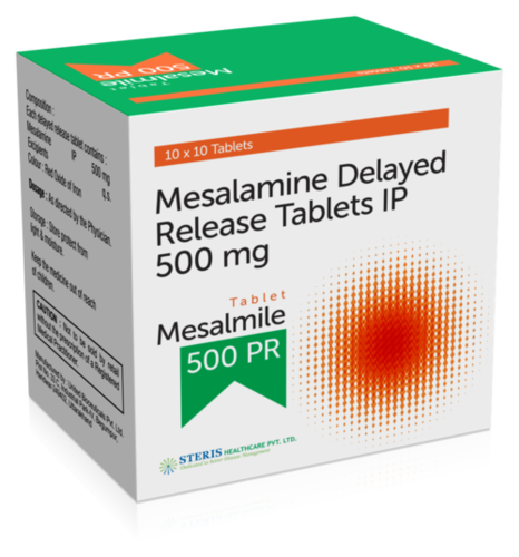 Mesalamine Delayed Release 500 mg