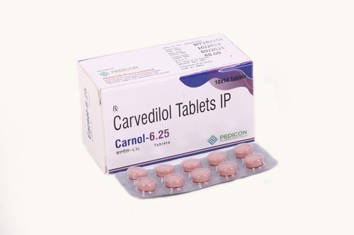 CARVEDILOL 6.25