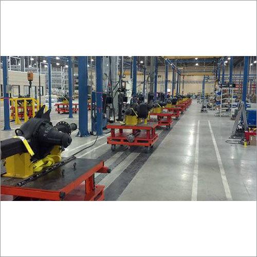 In Floor Tow Line Conveyor