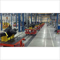 Tow Line Floor Conveyor