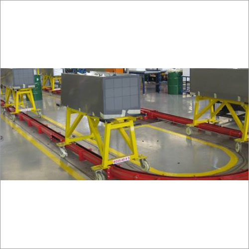 On Floor Tow Line Conveyor