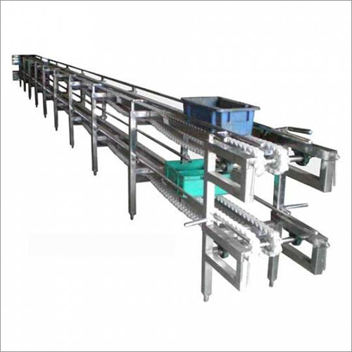 Two Tier Crate Conveyor