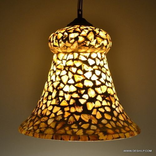 Yellow Seap Hanging Lamp Shaped For Decoration