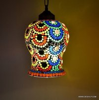 Multicolor Vintage Antique Lamp Diwali Festival Decoration