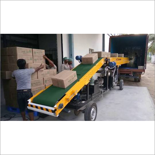 Heavy Duty Truck Loading Conveyor