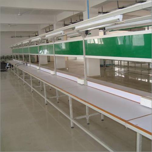 Assembly Line Conveyor For Street Lights
