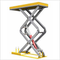 Single Cylinder Scissor Table