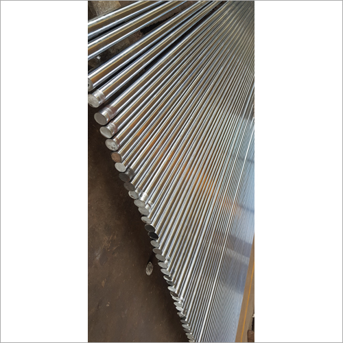 Burnished Hard Chrome Plated Bar