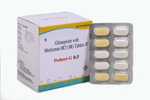 GLIMEPIRIDE 0.5MG + METFORMIN 500MG