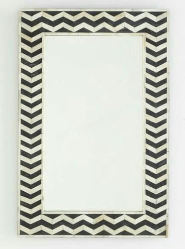 Antqiue Bone Inlay Mirror Frame