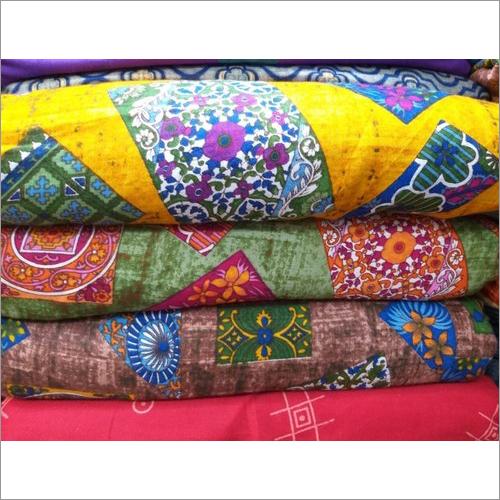 Printed Rayon Garment Fabric