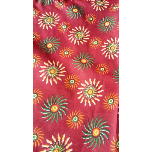 Printed Crepe Fabric