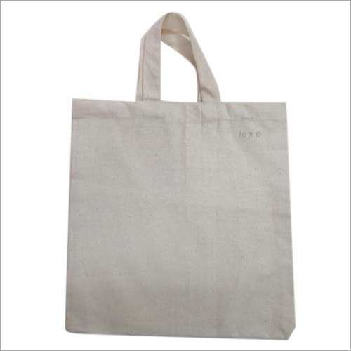 Plain Cotton Shopping Bags