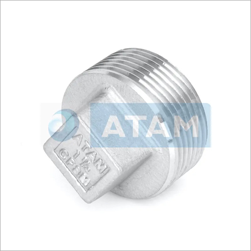 Stainless Steel Pipe Square Plug