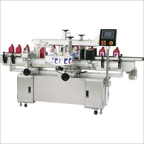 Double Sticker Lable Machine