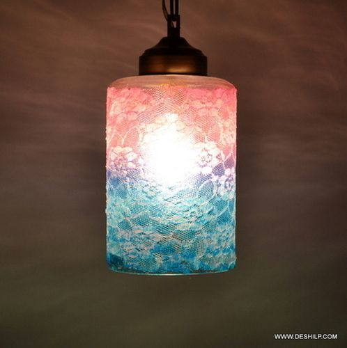 Multicolor Decor Glass Candle Gifts Home Decor, Outdoor Or Indoor Lighting