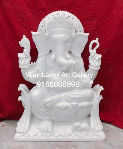 White Ganesha Idols