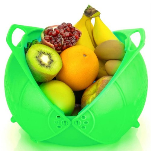 Foldable Plastic Fruits Basket