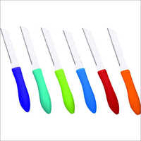 Sharp Plastic Handle Kitchen Knife