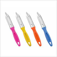 Plastic Handle Potato Peeler Knife