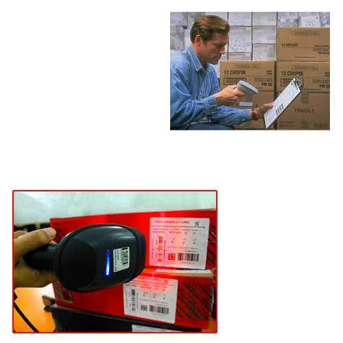 Barcode Label Scanner For Shopping Mall