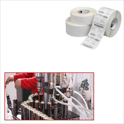 Printed Barcode Label For Cosmetic Industry