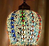 Multicolor Beautiful Mosaic Finish Glass Wall Hanging