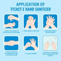 Tyzact-E 500ml Hand Sanitizer Trigger Spray
