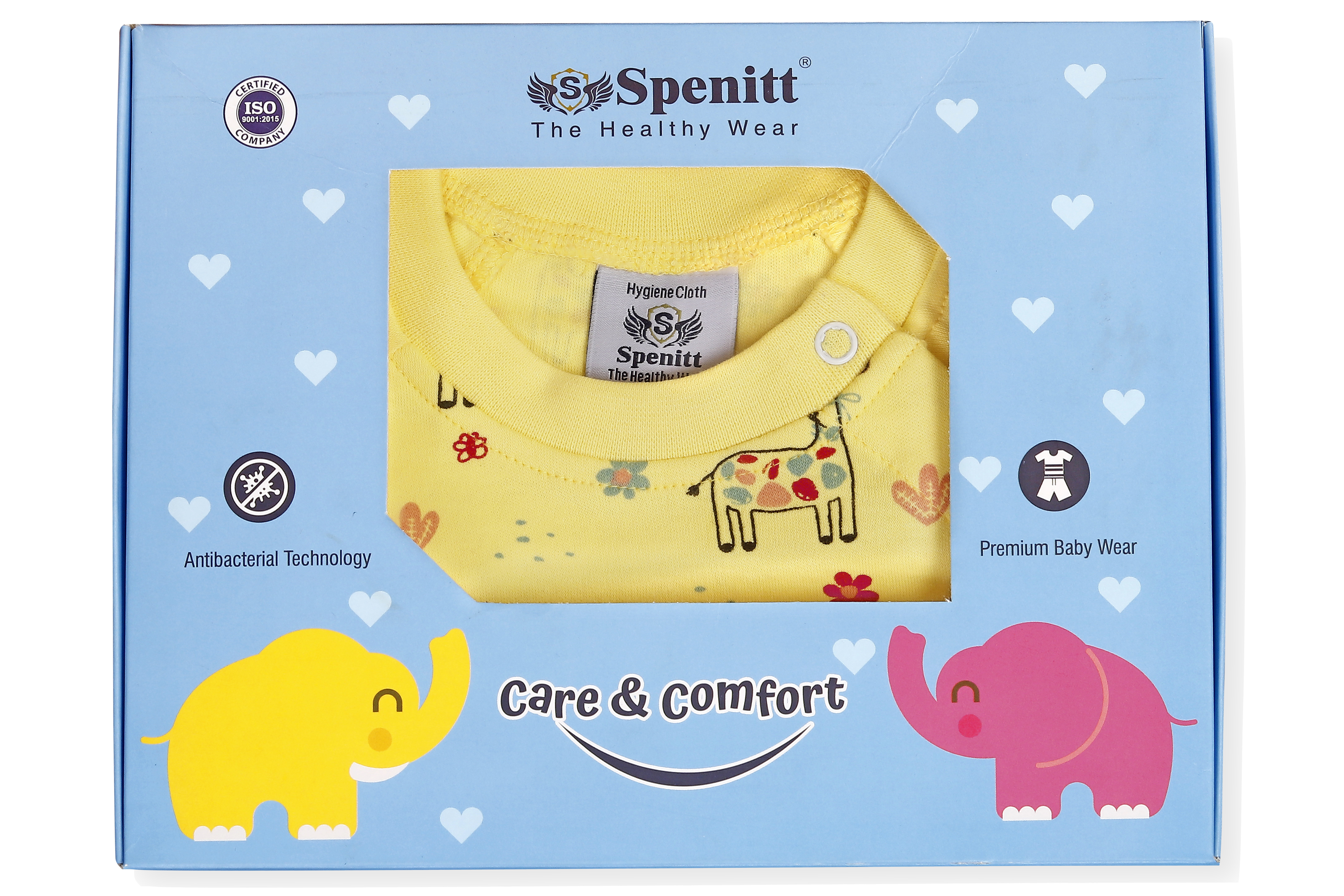 Short Sleeve Shoulder Button T-Shirt And Short