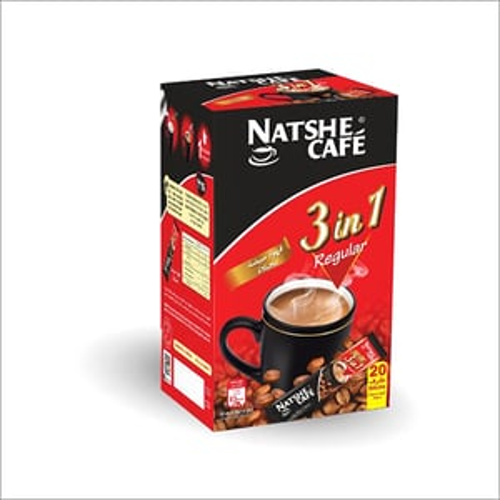 Natshe 3 in 1 Regular Coffee Sachets